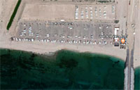 View of The Reef RV Park from above