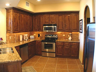 Bella Sirena Condo Kitchen